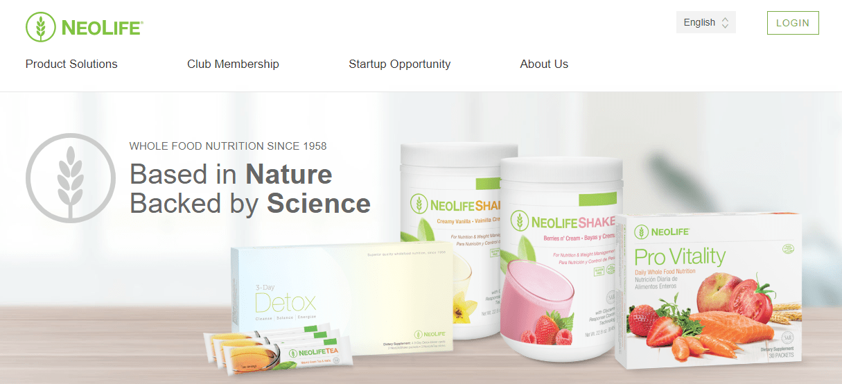 neolife website