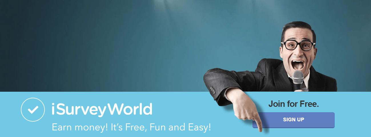 how to make money with isurveyworld